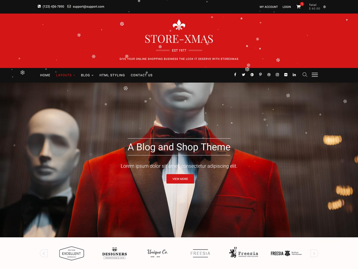 StoreXmas Christmas WordPress Themes