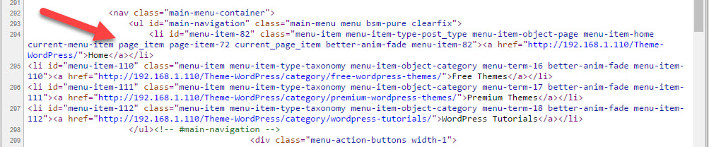 before: wp_nav_menu - How to remove Class and IDs