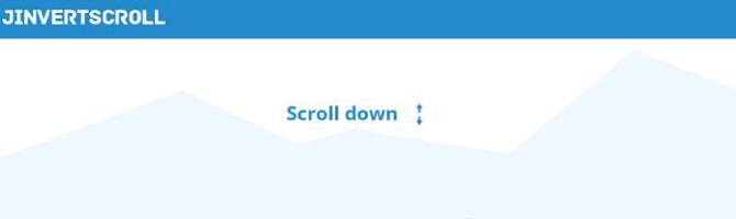 jinvertscroll jquery plugins