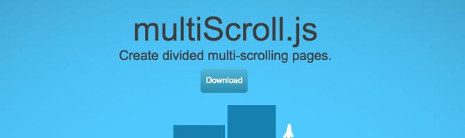 multiscroll jquery plugins