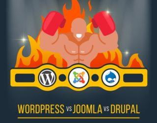 Best CMS: Comparing WordPress vs Joomla vs Drupal